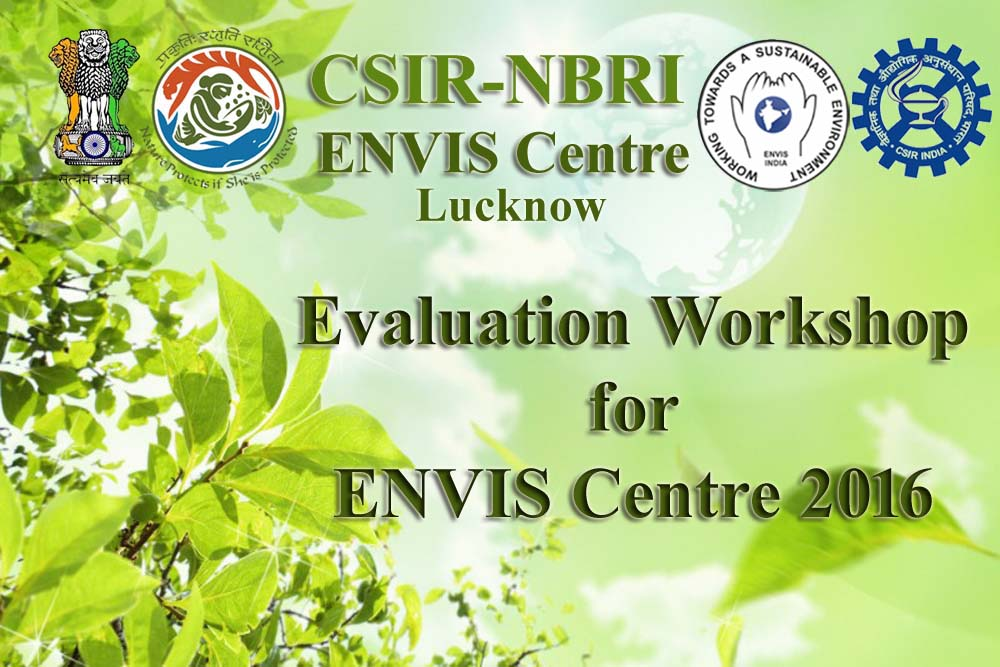 Evaluation Workshop for ENVIS Centres 2016