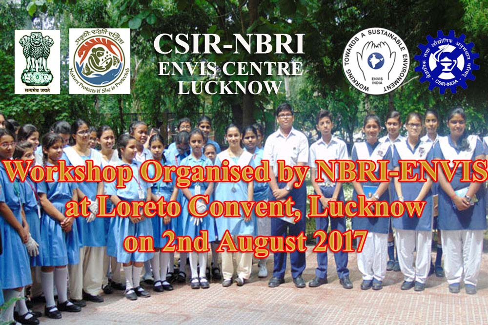 Workshop at Loreto College on 2/8/17 By ENVIS-NBRI