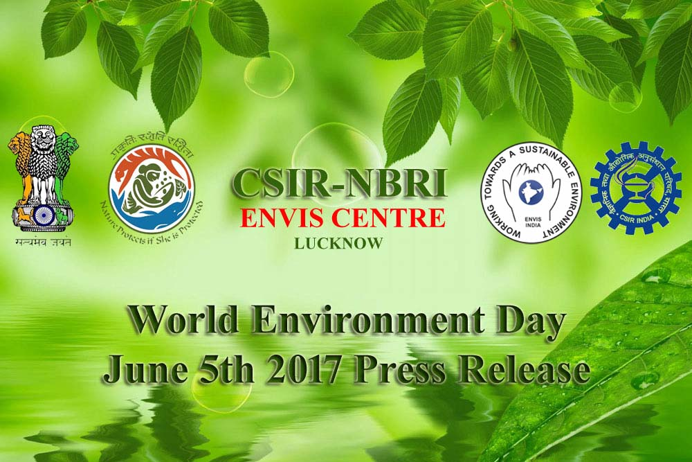 World Environment Day June 5th 2017 Press Release